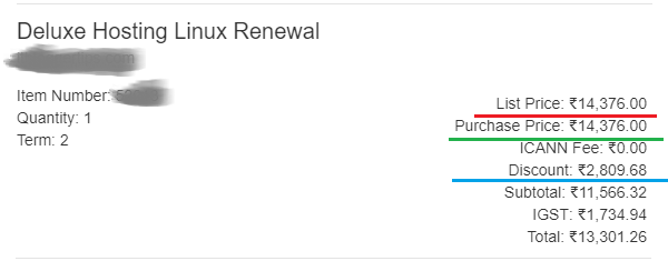 Godaddy Renewal Coupon for Deluxe Hosting