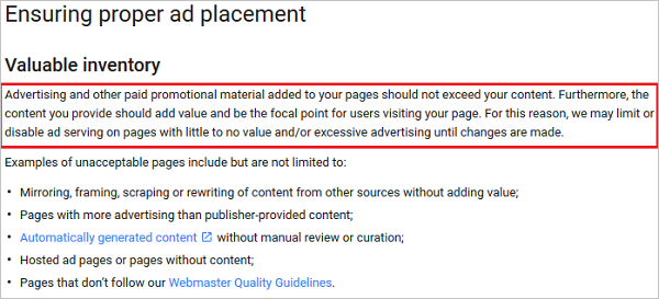 Google Removes Adsense Ad Limit Policy