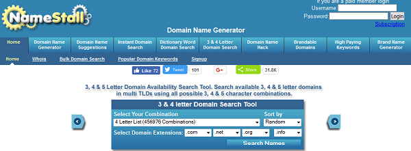 Namestall Tool